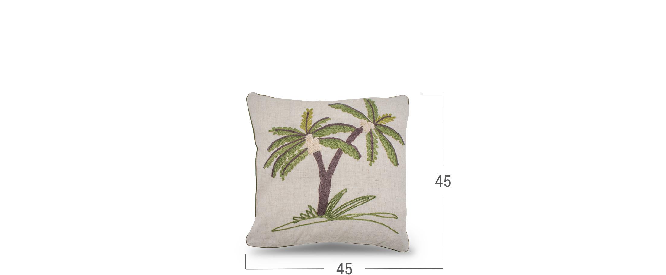 Подушка декоративная Пальма 4010