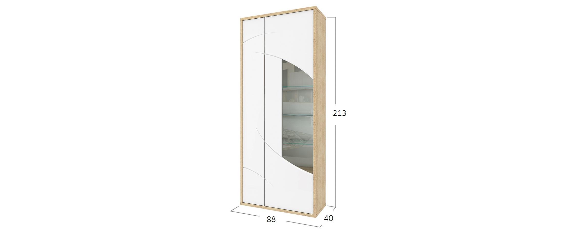 Шкаф-витрина Мадейра