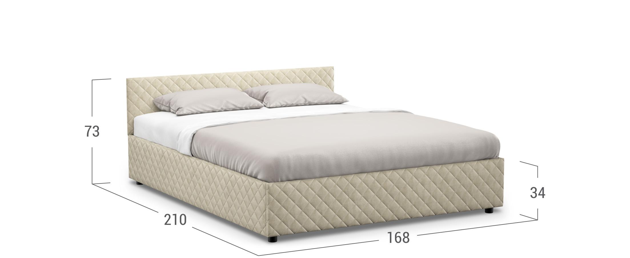 Кровать двуспальная Prima Style New 160х200 Модель 1221